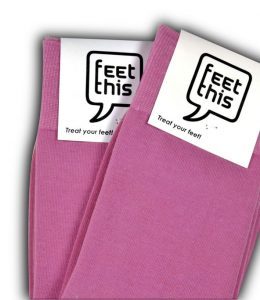 Roze-sokken